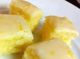 Lemony Lemon Brownies Recipe