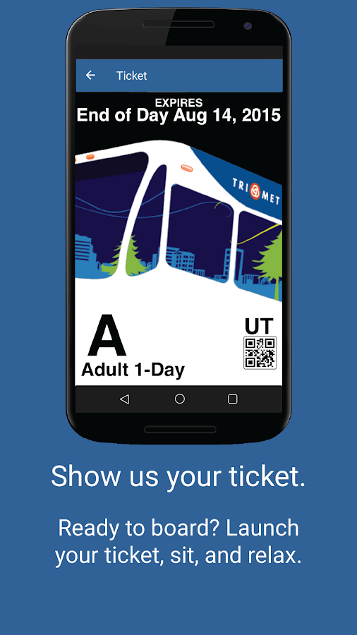 TriMet Tickets- screenshot