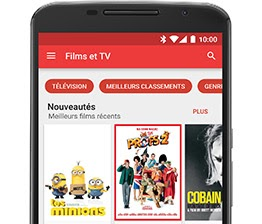 Google Play Films et séries
