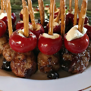 Cranberry-Barbecue Sauce Turkey Meatballs Recipe