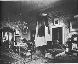 Photo: This is Abraham Lincoln's bedroom as it was decorated in the 1890's