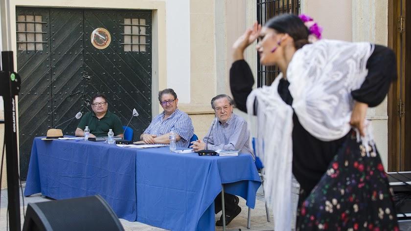 Grabación de la actividad el pasado mes de julio en la Plaza Julio Alfredo Egea.