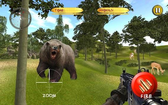 Forest Deer Hunter 3D: African Safari Hunting 2018 apk screenshot