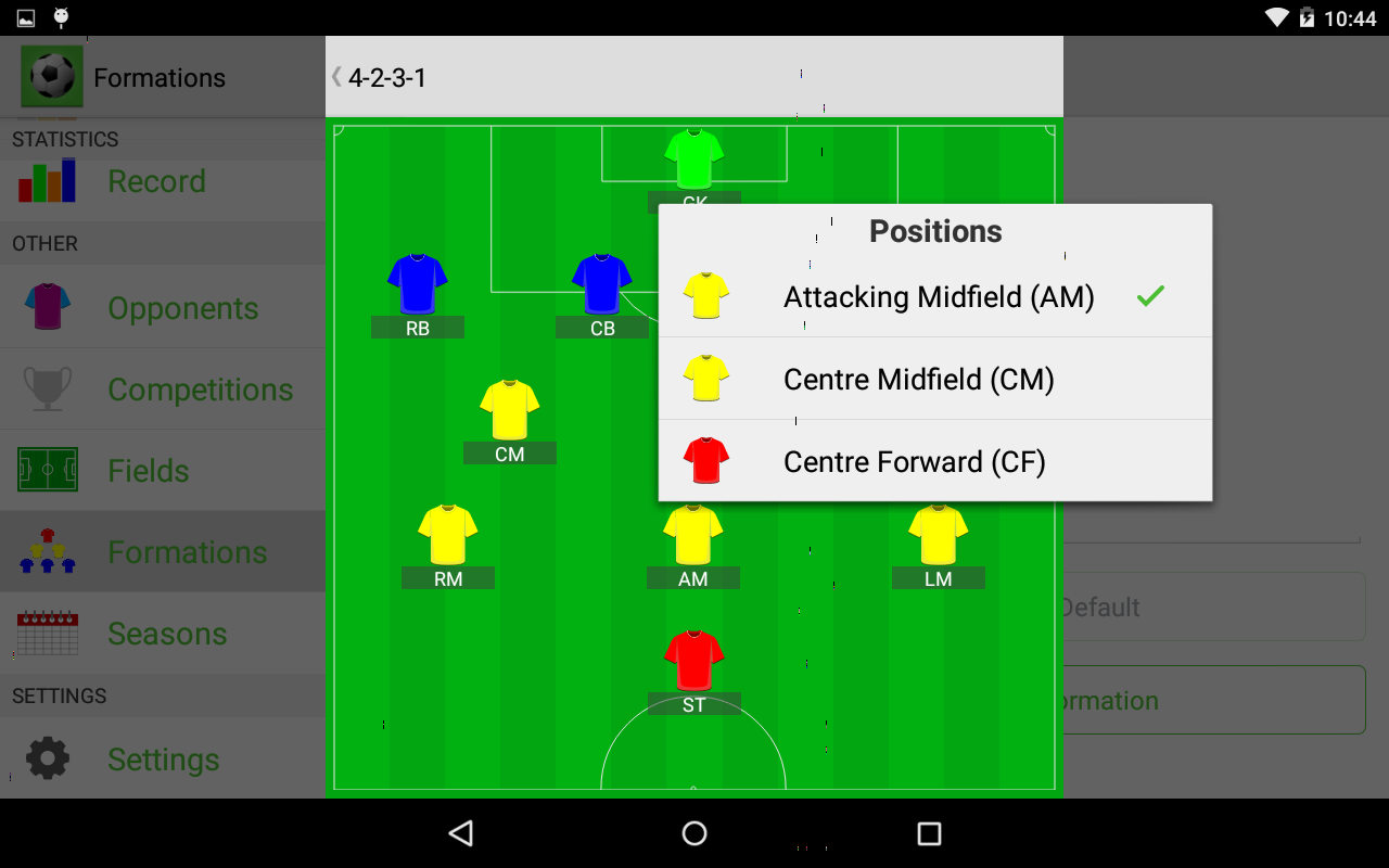 Soccer Teammate- screenshot