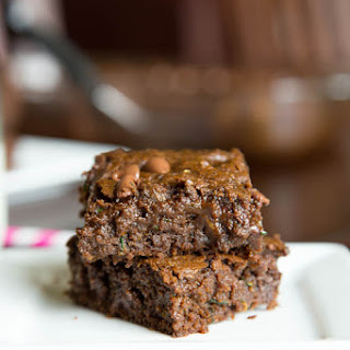 Healthy(er) Zucchini Brownies
