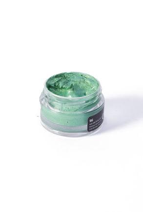Kroppsfärg metallic, grön