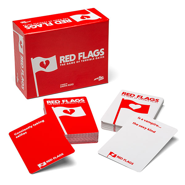 Image result for red flags game]