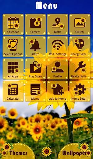 Summer Wallpaper Sunflowers 1.0.0 Windows u7528 2