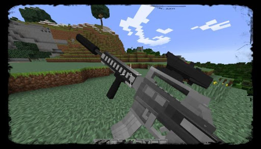 Weapon mod for minecraft PE for PC