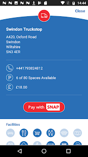 intruck - UK Truckstop App- screenshot thumbnail
