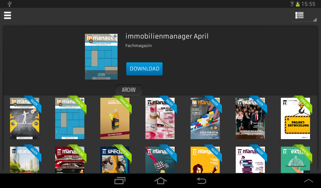 immobilienmanager- screenshot