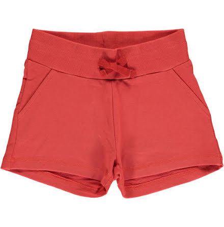 Maxomorra Sweatshorts Rusty Red