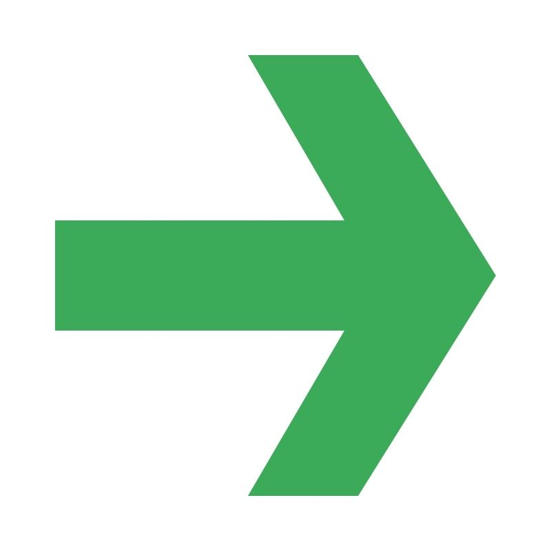 arrow pointing in the right direction
