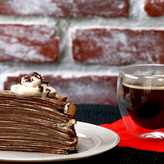 Coffee Crepe Cake Recipe