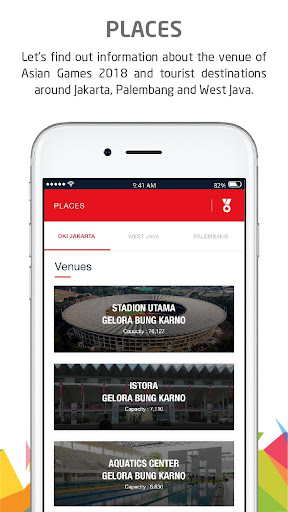 Telkomsel Asian Games screenshot 6