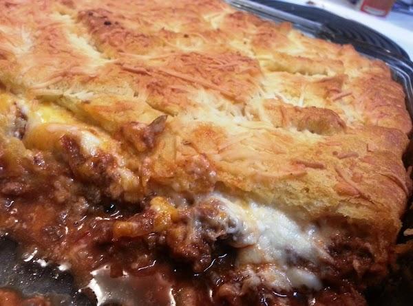 Cheesy Italian Ricotta & Beef Pie Recipe