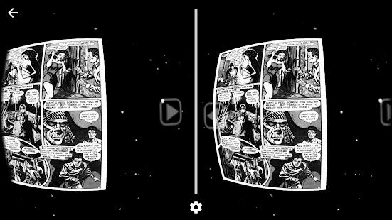 Progressive Rock VR Comic Book - náhled