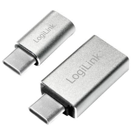 Logilink USB-C > USB + USB-C > MicroUSB (AU0040)