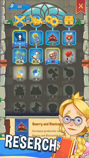 Code Triche ⚔️ Tap! Tap! Kingdom - Idle Clicker Fantasy RPG  APK MOD (Astuce) screenshots 6