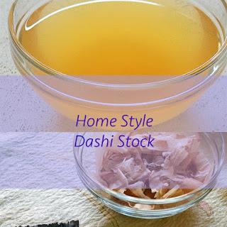 Home Style Japanese Dashi Stock