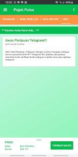 App Pojok Pulsa APK for Windows Phone
