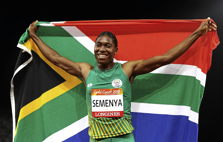 Caster Semenya is far from giving up.