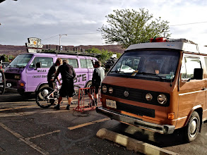 Photo: Moab, with Jesse's Coyote Shuttle