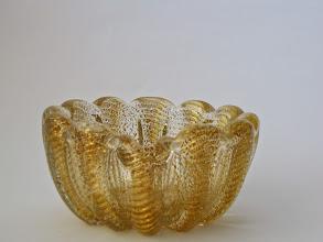 Photo: Barovier and Toso cordanato oro bowl