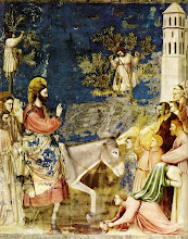Photo: Christ Entering Jerusalem by Giotto. Palm Sunday