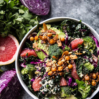 The Mean Green Detox Salad.