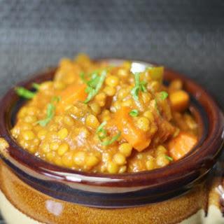 Lentil Chili Stew.