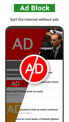 AdBlock - Block ad for all browers,ad blocker plus 2.3.034 screenshots 1
