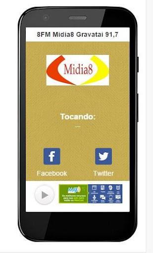 8FM Midia8 Gravatai 91 7