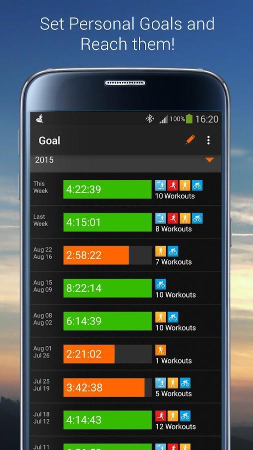 Sports Tracker Running Cycling- screenshot