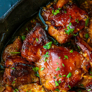 Honey Soy Chicken Thighs