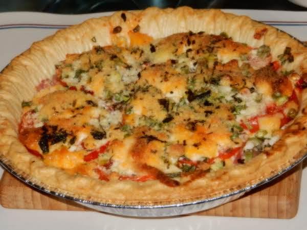 July Tomato Pie Recipe