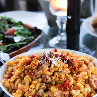 Spicy Cajun Chicken Pasta.