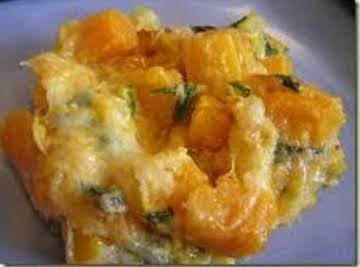 Grams Squash Casserole (Vegetarian)