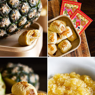 Pineapple Tarts for Chinese New Year – 凤梨酥/黄梨酥