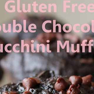 Gluten Free Double Chocolate Zucchini Muffins