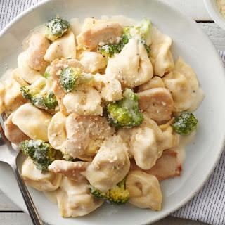 Cheesy Chicken Tortellini.