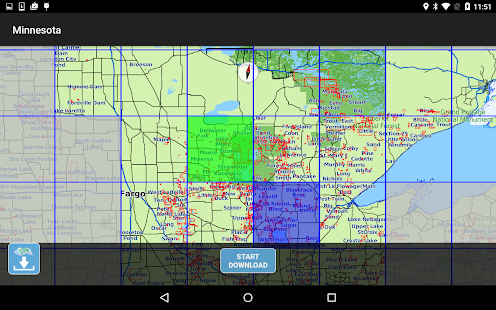 Aqua Map Minnesota Lakes GPS- screenshot thumbnail