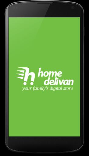 Home Delivan Mobile app