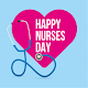 HAPPY NURSES DAY WISHES CARD APK