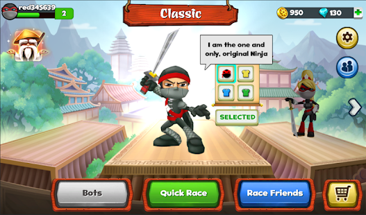 Ninja Race - Fun Run Multiplayer Screenshot