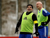 """Le bel hommage de Diego Maradona: """"Il aurait pu être le plus grand joueur de l'histoire""""Messi"""
