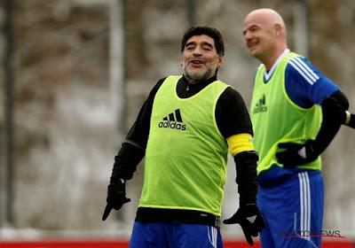 """Diego Maradona envoie un message de soutien """"à l'Italie, qui fait entièrement partie de ma vie"""""""