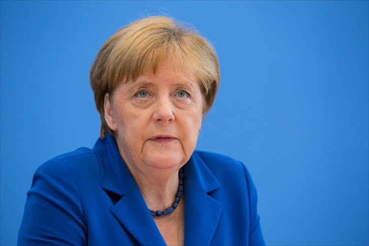 German Chancellor Angela Merkel. Picture: BLOOMBERG/KRISZTIAN BOCSI
