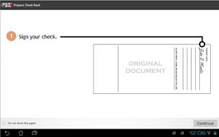 Screenshot of PSECU Mobile+