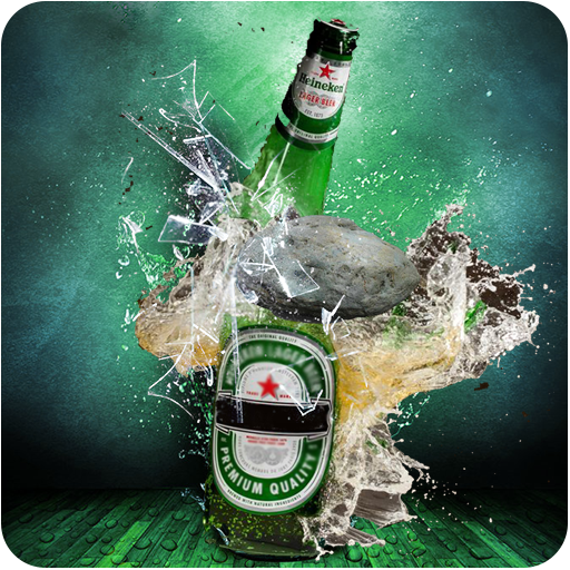 Bottle Shoot 3D - Bottle Break with Stone Shooting (game)